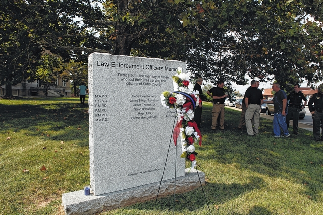 Fallen officers honored