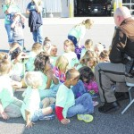 Millennium Charter Academy's Kindergartens students visited Bannertown Fire Department