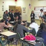 Mount Airy High School, Tharrington Primary School host Chinese educators