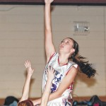 Lady Patriots split two contests