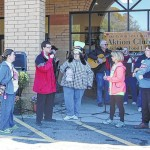 Surry Community College's AKTION club holds food drive for Yokefellow and Salvation Army food banks