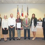 Surry County Commissioners recognize Edward M. Armfield Sr. Foundation and two Mount Airy residents