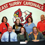 Kelsey Tunstall signs to swim for Campbell University
