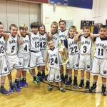 Sixth grade Bears win weekend tournament