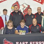 Blake Marion signs with Wingate