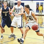 Mount Airy dominates second half to beat Bishop, share conference crown