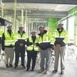 ASU students, Rep. Foxx visit Omega Construction site