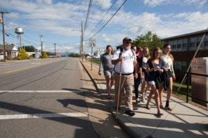 Local students walk to end summer hunger
