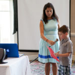 Dual-language students perform for Rotary