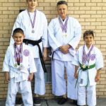 Local athlete advances in karate debut