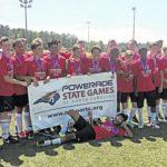 Local soccer team earns bronze
