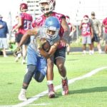Eagles, Hounds collide in 7-on-7