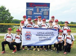 East Surry one win from 12U State Title