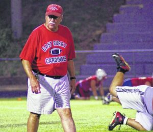East Surry to host football clinic, camp