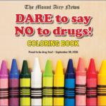 DARE Coloring Book 2016