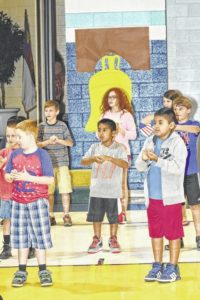 Westfield students celebrate Constitution Day