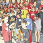 Students perform at PTO meeting
