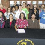 SC runner signs with Davidson College