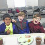 Shoals third graders enjoy feast