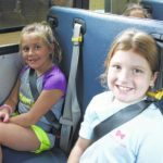 Bus seat belts getting thumbs up