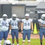Huff shines at Blue-Grey game
