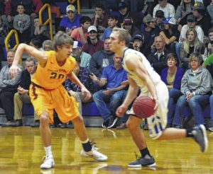Fourth-quarter surge gives Hounds the win