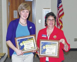 Mount Airy school board honors students, staff for achievements