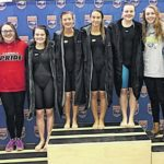Lady Cards fourth at state swim finals