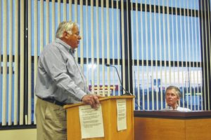 Contractor confronts board about grading payment