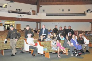 Sheriff's deputies, staff take oath