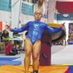 Former gymnast transitions to new sport