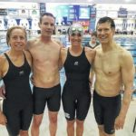 Swimmer part of record-breaking relay