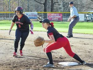 Local softballers fall in bronze-medal game