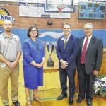 Hounds named SCS' top athletic program