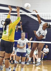 Lady Eagles roll past Mount Airy