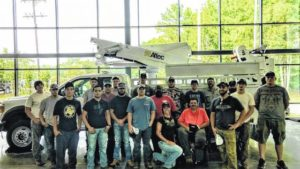 College welding students tour Altec